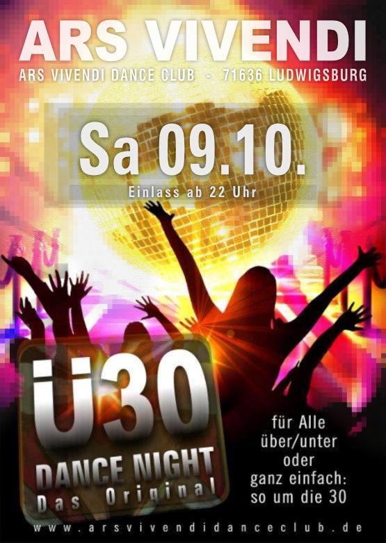 Ü30-Dance-Night für alle so um die 30, Einlass ab 22:00 Uhr House, Black, Reggaeton, 90er, 80er, Club-Hits and more)